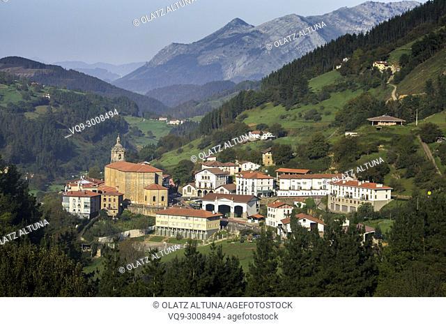 Errezil, Gipuzkoa, Basque Country, Spain