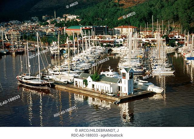Yacht harbour, Marmaris, Turkey