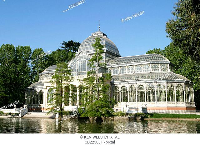 Crystal Palace (1886-87), Parque del Retiro. Madrid. Spain