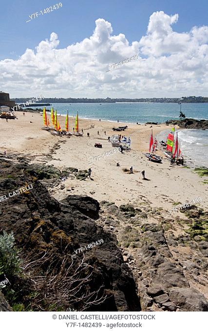 Saint Malo, Brittany, France, Sailing school