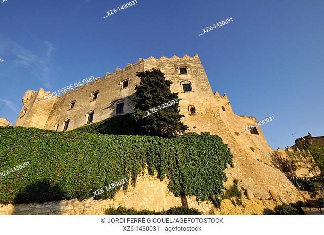 Medieval castle of Altafulla,Tarragona province, Catalonia, Spain, Europe
