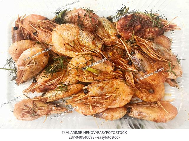 Fresh Grilled Shrimp
