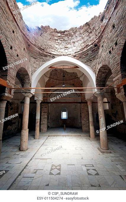 Christian church ruins