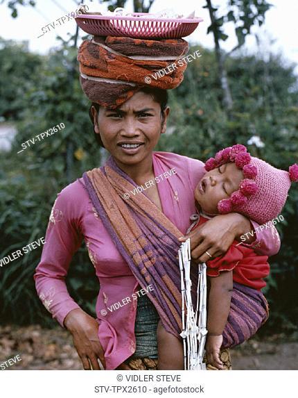 Baby, Bali, Asia, Female, Holiday, Indonesia, Kintamani, Landmark, Market, Tourism, Travel, Vacation, Vendor, Woman