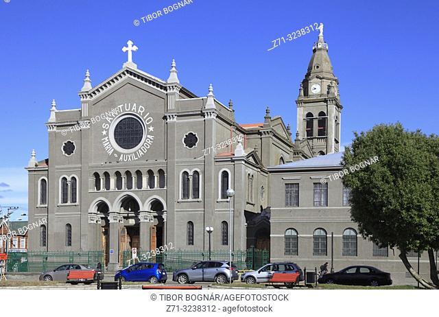 Chile, Magallanes, Punta Arenas, Maria Auxiliadora Sanctuary,