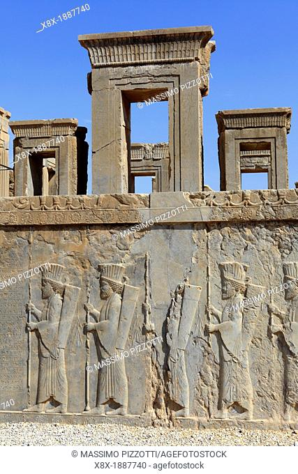 Palace of Darius or Tachara Palase, Persepolis, Iran