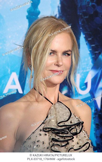 """Nicole Kidman 12/12/2018 """"""""Aquaman"""""""" Premiere held at the TCL Chinese Theatre in Hollywood, CA Photo by Kazuki Hirata / HNW / PictureLux"""