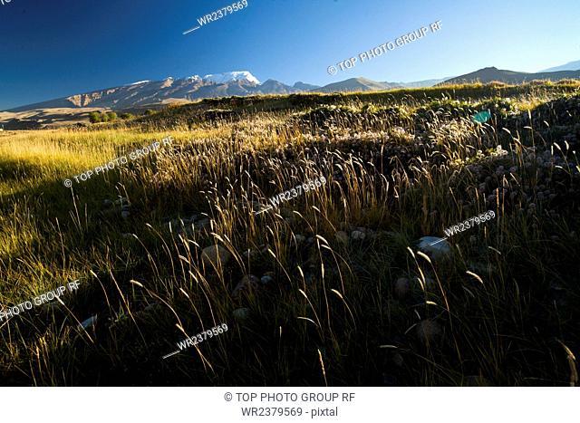 Burang County scenery