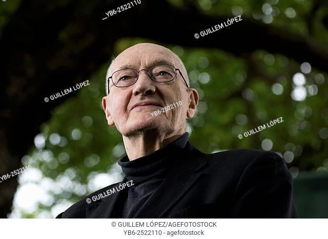 EDINBURGH, SCOTLAND, Tuesday 18th, AUGUST 2015: Scottish writer, broadcaster and former Bishop of Edinburgh, Richard Holloway appears at the Edinburgh...