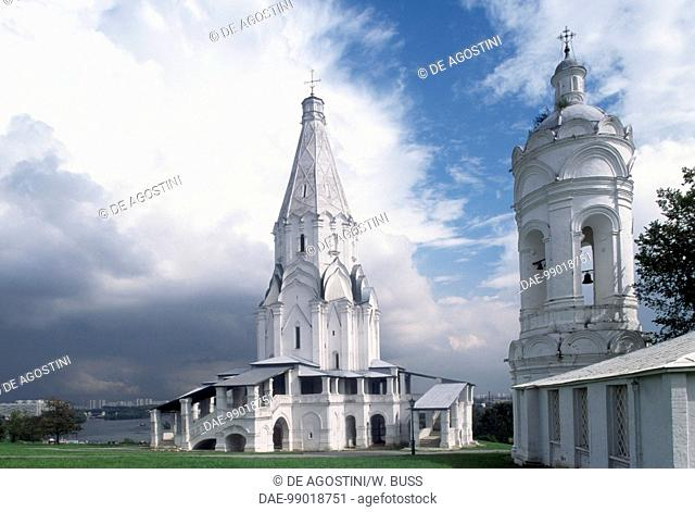 Church of the Ascension, 1532, by architect Aleviz Novyi (active 1499-1531) (UNESCO World Heritage List, 1994), Kolomenskoye, near Moscow