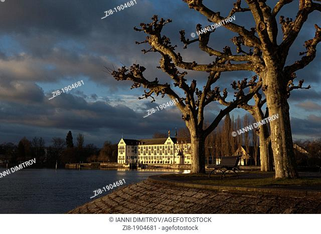 Lake Constance,Bodensee,Baden-Wurttemberg,Germany,Deutchland- Steigenberger Hotel