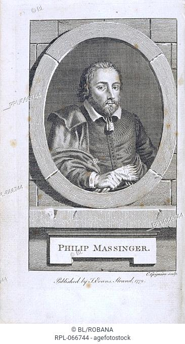 Philip Massinger 1583-1640. English dramatiSt Portrait. Image taken from The Dramatick Works of Philip Massinger Revised and correted