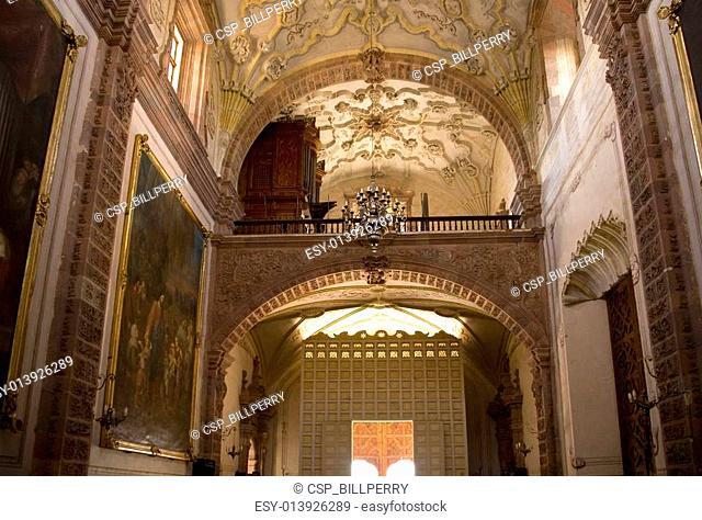 Organ Door Balcony Mexico