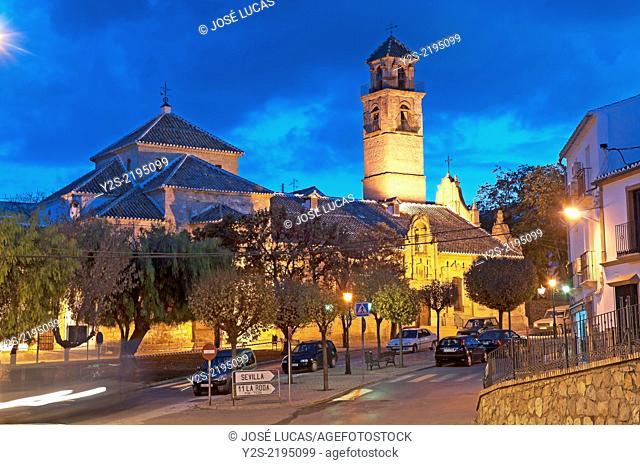 Church of the Inmaculada Concepcion, Alameda, Malaga-province, Region of Andalusia, Spain, Europe