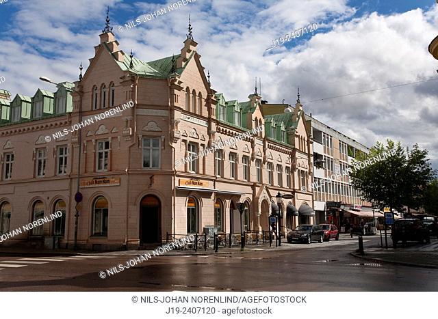 "Köping,""""square"""", Västmanland, Sweden"