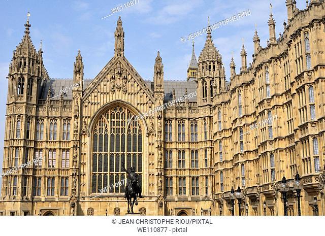 Palace of Westminster, London, England, UK