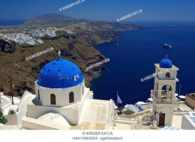 Greece, Europe, Cyclades, island, isle, islands, Greek, outside, Mediterranean Sea, chapel, church, architecture, building, building, construction, religion