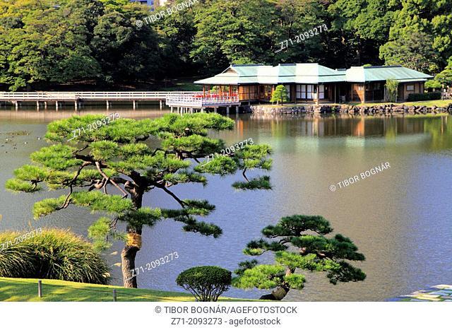 Japan, Tokyo, Hama-rikyu Gardens,