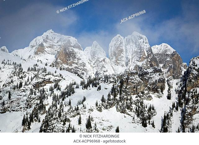 The Pinnacles in the Southern Monashee Mountains, British Columbia, Canada