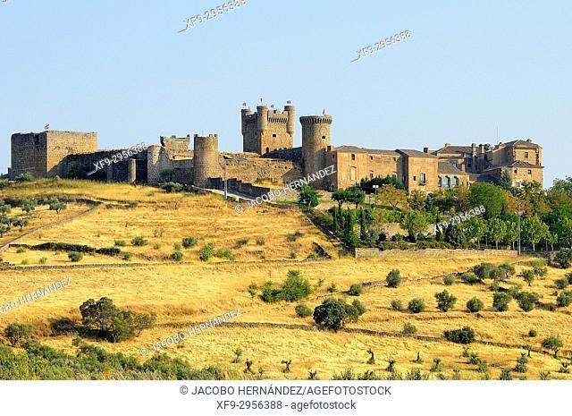 Castle of Oropesa.Toledo province. Castilla La Mancha. Spain