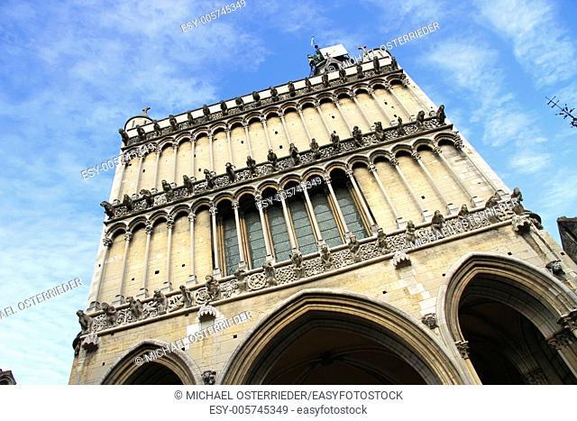 The church Notre-Dame de Dijon in Dijon, France, Europe