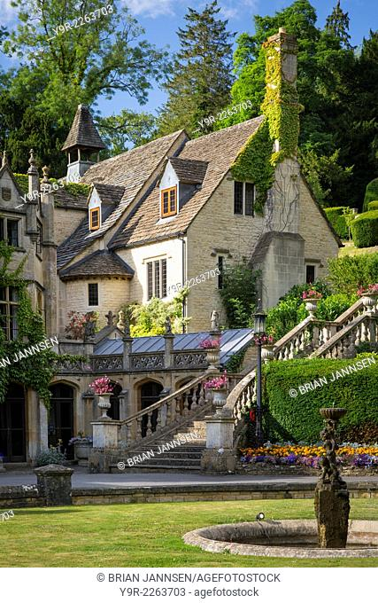 Manor House Hotel, Castle Combe, the Cotswolds, Wiltshire, England