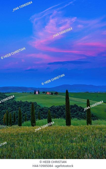 Siena city in Tuscany