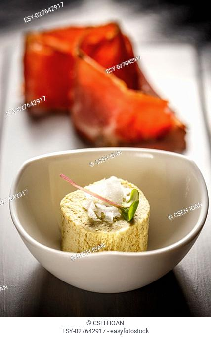 Butter and sea salt Stock Photos and Images | age fotostock