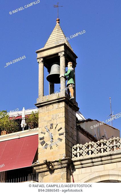 Plasencia City Hall building, Consistorial House, Caceres, Extremadura. Spain