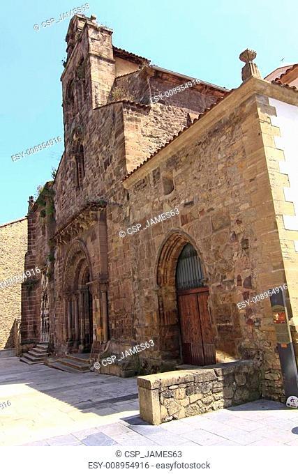 Church of Sabugo in Aviles, Spain