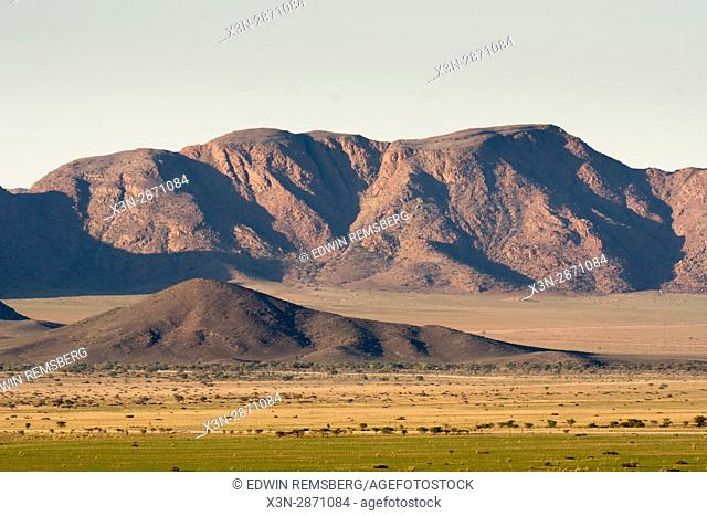 Mountainous landscape in the Namib-Naukluft National Park, Namibia, Africa