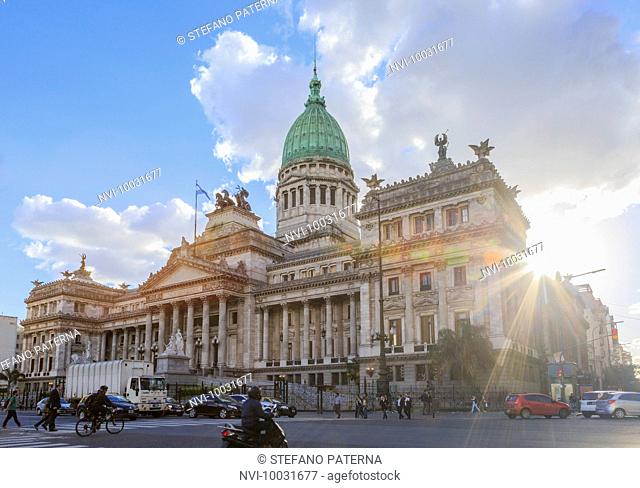 The Palace of the Argentine National Congress, Buenos Aires, Argentina, South America
