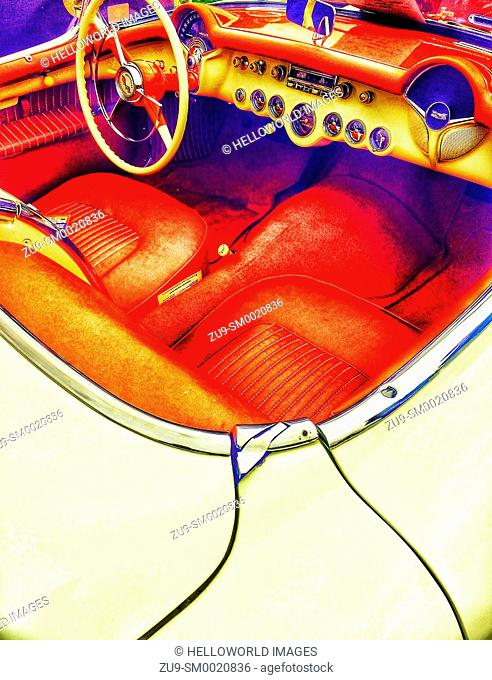 1954 Chevrolet Corvette convertible classic car