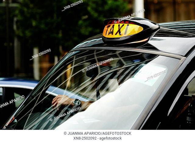 Taxi, London, United Kingdom, Europe