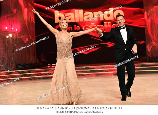 Alessandro (Alex) Del Piero during the performance at the tv show Ballando con le setelle (Dancing with the stars) Rome, ITALY-11-05-2019