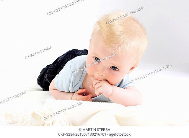 Child, son, toddler, baby CTK Photo/Martin Sterba, Josef Horazny