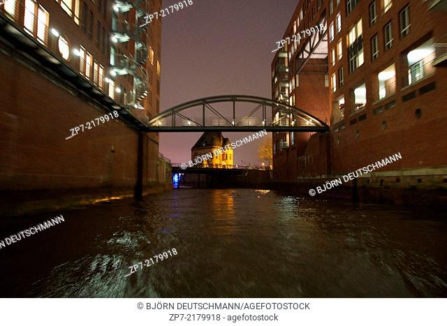 The Speicherstadt Hamburg