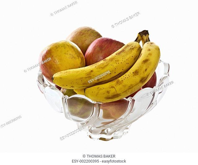 Glass Bowl of Fruit
