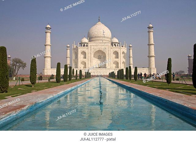 Taj Mahal, Agra, Uttar Pradesh, India, South Asia