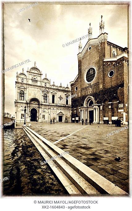 Basilica San Giovanni e Paolo, Castello, Venice, Italy