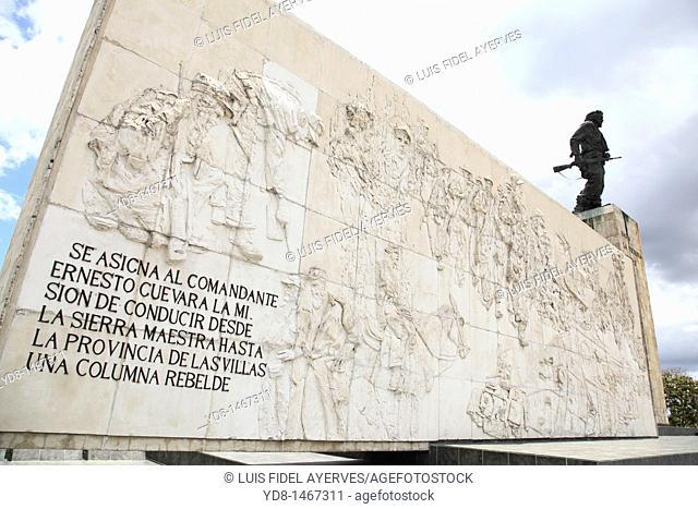 Monument dedicated to Ernesto Che Guevara in Santa Clara, Villa Clara, Cuba