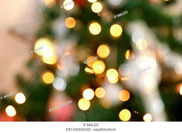 Christmas / Beautiful Christmas and New Years scene