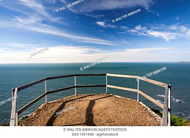 USA, California, San Francisco Bay Area, Marin Headlands, Golden Gate National Recreation Area, Muir Beach Overlook