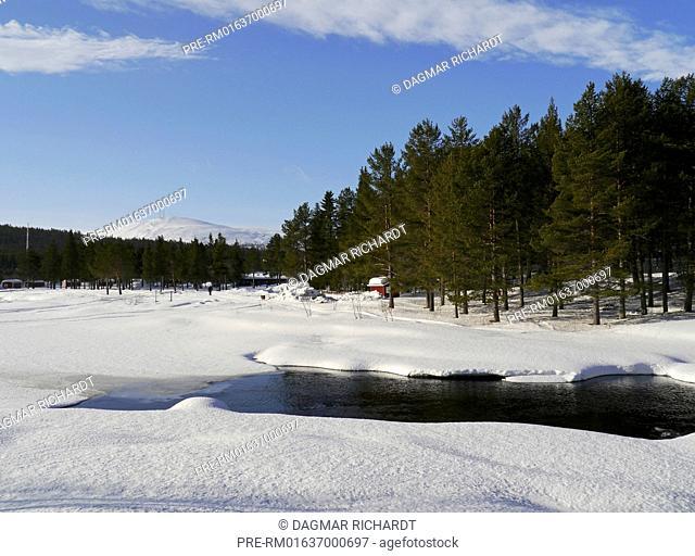 Vassaraälv, Dundret mountain, Gällivare, Norrbottens län, Lappland, Sweden / Vassaraälv, Berg Dundret, Gällivare, Norrbottens län, Lappland, Schweden