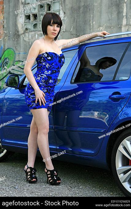 Passende Mode zur Autofarbe