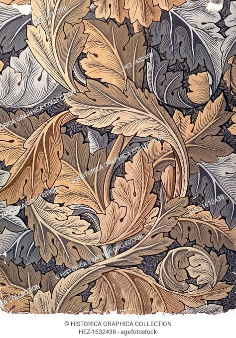 'Acanthus', wallpaper designed by William Morris, 1875