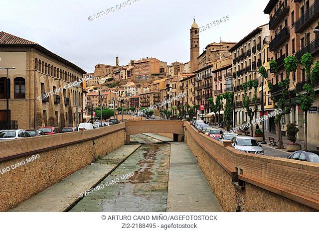 Historical Downtown. Tarazona, Zaragoza, Spain