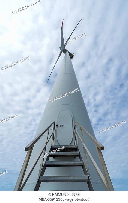 Wind Turbine, Rønland Windpark, Thyborøn, Midtjylland, Denmark