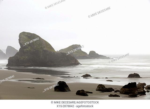 Oregon Shoreline Sea Stacks
