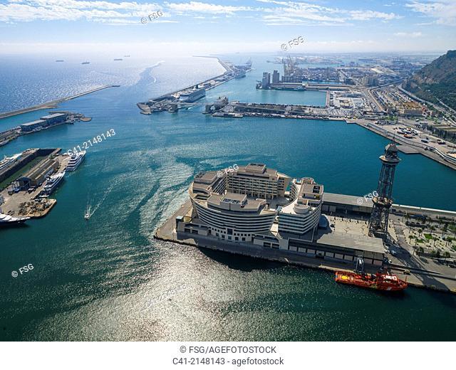 Port of Barcelona. Barcelona, Spain